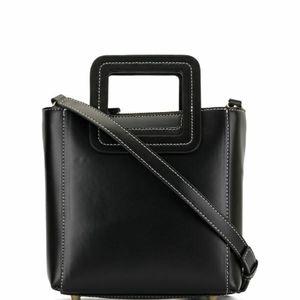 Staud Black Mini Shirley Bag